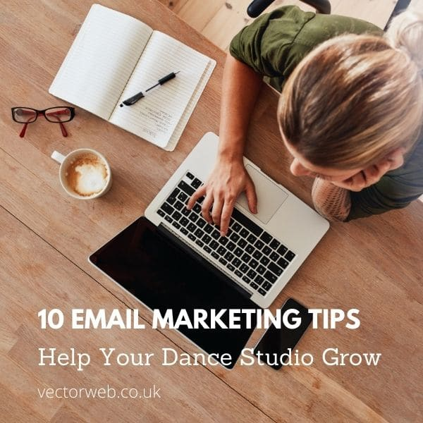 10 email marketing tips for your dance school