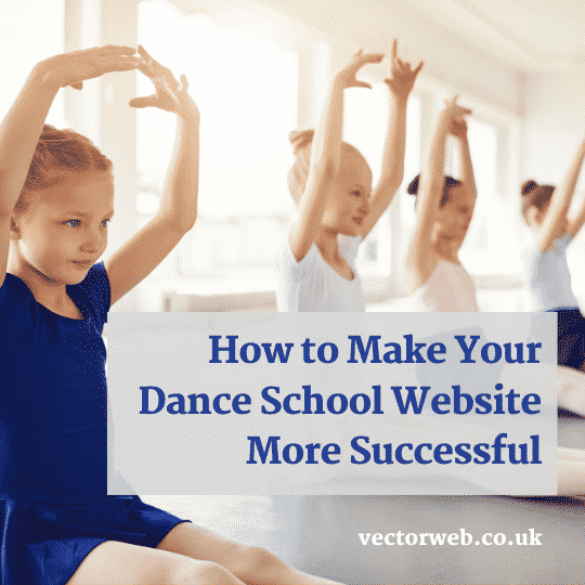 how to make your dance school website more successful